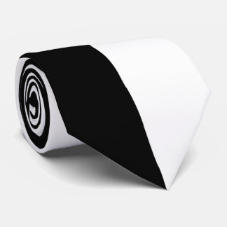 Black and White Automobile Tie