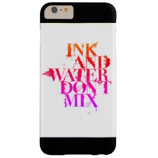 Black and White Barely There iPhone 6 Plus Case