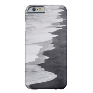 Black and white beach scenic barely there iPhone 6 case