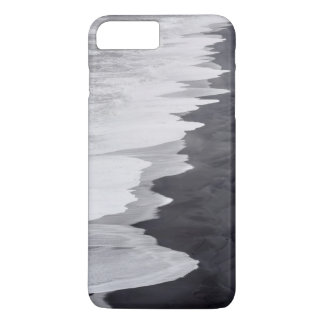 Black and white beach scenic iPhone 7 plus case