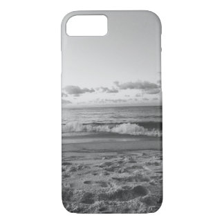 Black and White Beach View iPhone 7 Case