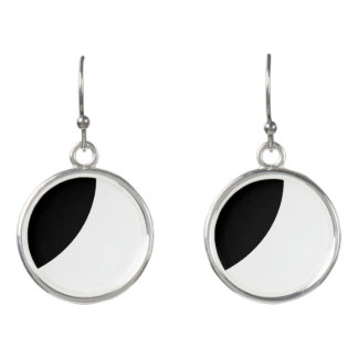 Black and White Beauty Earrings