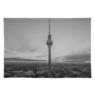 Black and White Berlin at Winter Placemat