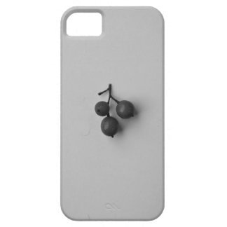 Black and White Berries Barely There iPhone 5 Case