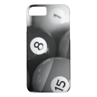 Black and White Billiards iPhone 7 Case