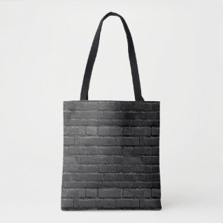 Black and White Brick Bag