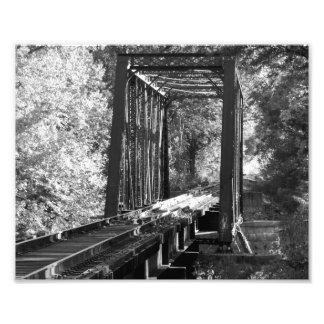Black and White Bridge Photo