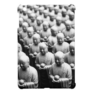 Black and White Buddha Statues ipad mini case