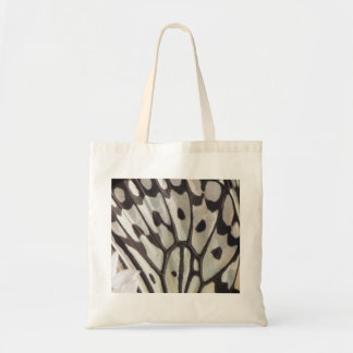 Black and White Butterfly Wing Bag