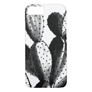 Black and White Cactus iPhone 8/7 Case