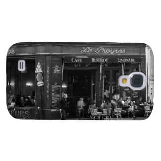 Black and White Cafe in Montmartre, Paris Galaxy S4 Cases