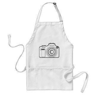 Black and white camera standard apron