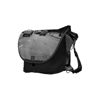 Black And White Cars Courier Bags