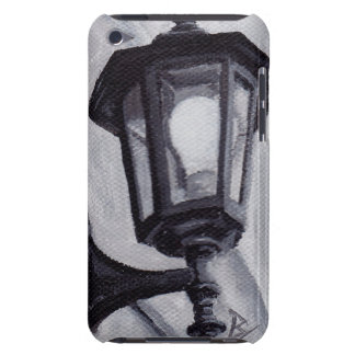 Black and White Barely There iPod Case