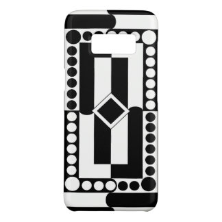 Black-and-white Case-Mate Samsung Galaxy S8 Case