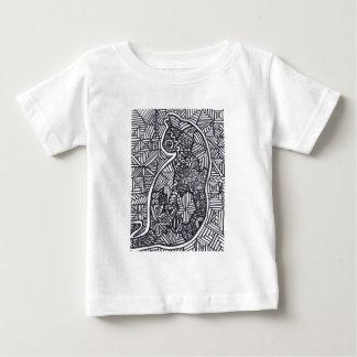 Black and White Cat 1 Baby T-shirt