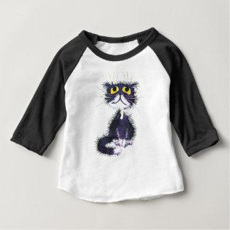 Black and white cat baby T-Shirt