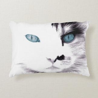 Black and White Cat Decorative Cushion