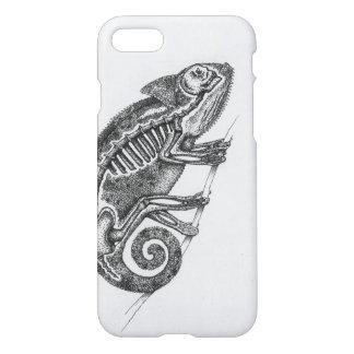 Black and White Chameleon Phone Case