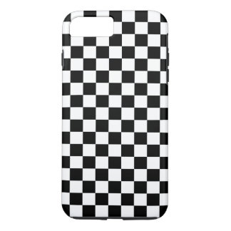 Black and White Checkerboard iPhone 8 Plus/7 Plus Case