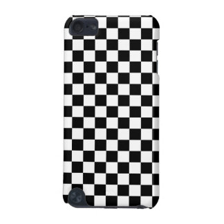 Black and White Checkerboard iPod Touch (5th Generation) Covers