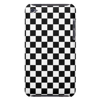 Black and White Checkerboard iPod Touch Case-Mate Case