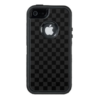 Black and White Checkerboard OtterBox Defender iPhone Case