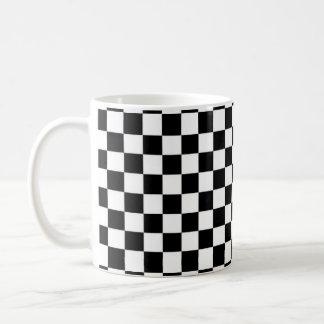 Black and White Checkered Classic Mug