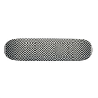 Black and white Checks Skate Board Deck