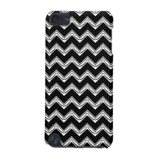 Black and White Chevron pattern iPod Touch 5G Cover