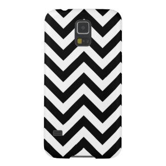 Black And White Chevron Pattern Galaxy S5 Case