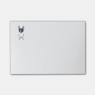 Black and White Chihuahua Post-it Notes