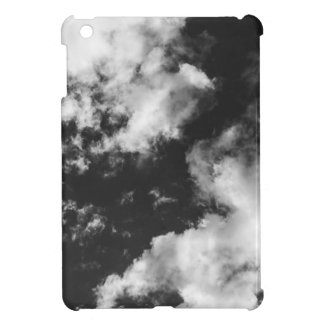 Black and White Cloudy weather iPad Mini Cover