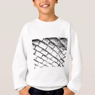 black and white cobbles sweatshirt