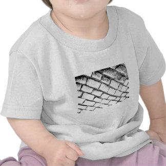 black and white cobbles t-shirts