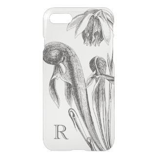 Black and White Cobra Pitcherplant iPhone 7 Case