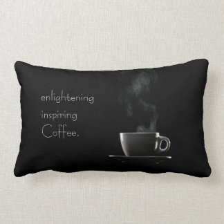 Black and White Coffee Pillow