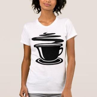 BLACK AND WHITE COFFEE T SHIRT