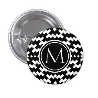 Black and White Cool Chevron Pins