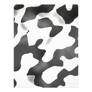 Black And White Country Cow Pattern 21.5 Cm X 28 Cm Flyer