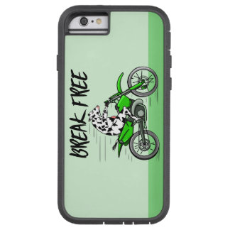 Black and white cow breaking free tough xtreme iPhone 6 case