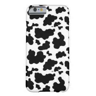 Black and White Cow Print Iphone 6 Phone Case