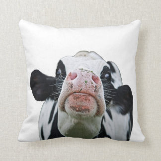 Black and white cow throw pillow throw cushions