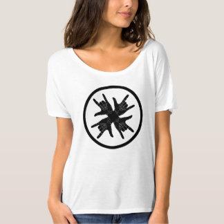 Black and white crazy T-Shirt