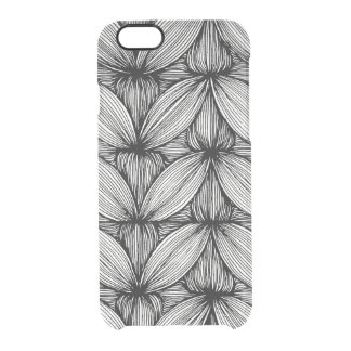 Black And White Curvy Stripes Phone Case