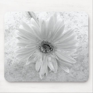 Black and White Daisy Mousepads