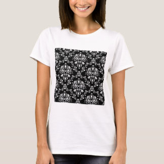 Black and White Damask T-Shirt