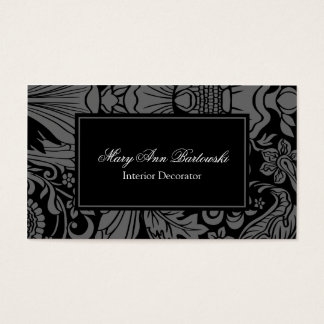Black and White Decorative Classic Damask Ornate