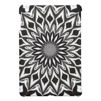 Black And White Decorative Mandala iPad Mini Cases