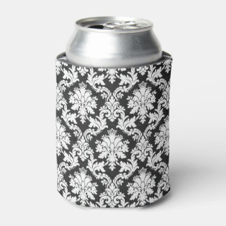 BLACK AND WHITE DESIGN CAN COOLER
